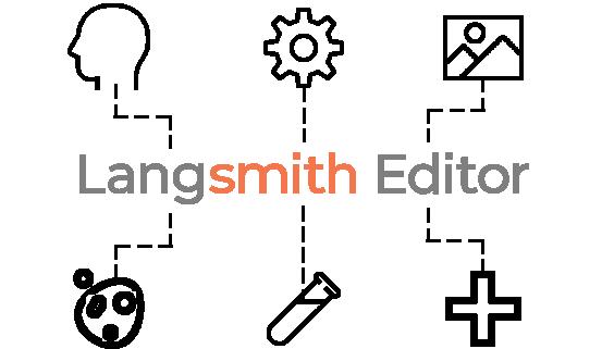Langsmith Editorの特徴「自然言語処理分野に特化したシステムに加え、機械学習・医学などの専門5分野に特化」